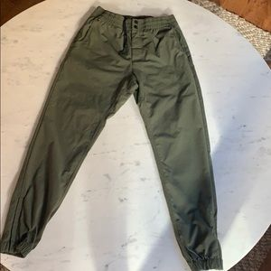 Nike Pants in Army Green. Great condition!